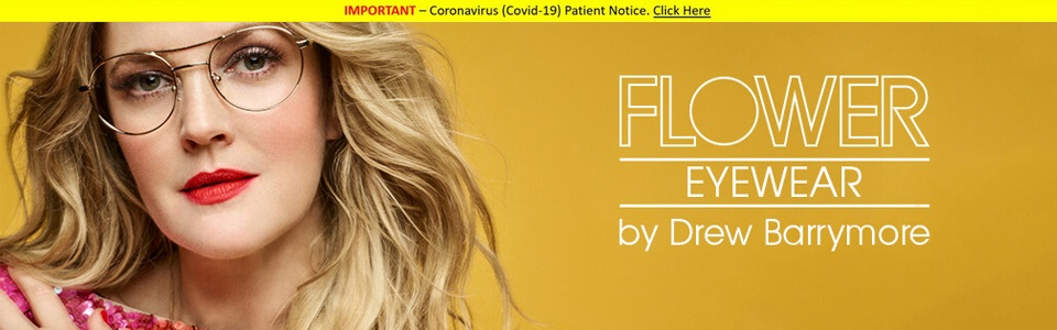Flower eyewear range by Drew Barrymore