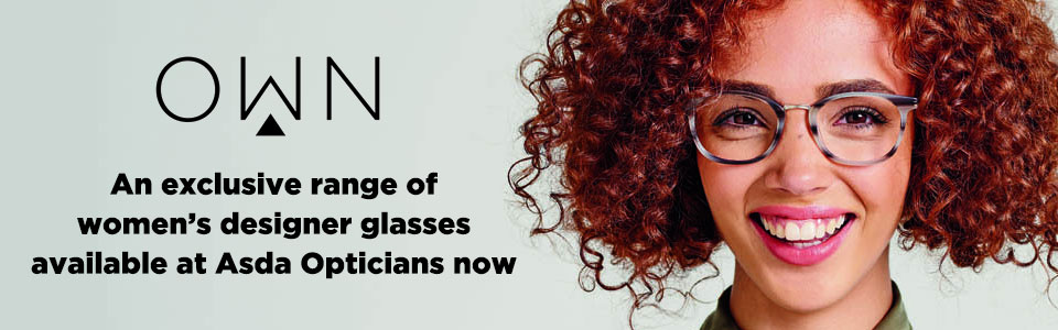 Own, an exclusive range of women's designer glasses